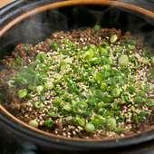 おこげを楽しんだら、上湯を入れて雑炊風に『土鍋炊き込みご飯』