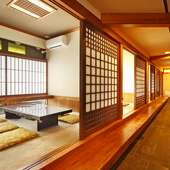人数に合わせた広さの個室を数種備えているので、幅広い方に対応