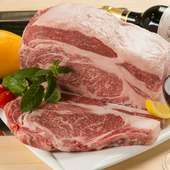 濃厚且つ、深い味わいを感じられる、選りすぐりの国産肉