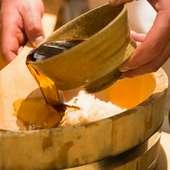 素材にこだわり。日本が誇る完全無農薬の米を使用