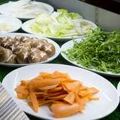 地元島根の新鮮で旬の美味しい野菜が食べ放題『新鮮お野菜バー』