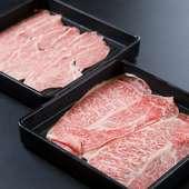質のいい脂と、甘みがあり柔らかな肉質の『特選島根和牛』