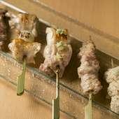 今日のおまかせ串(5種)