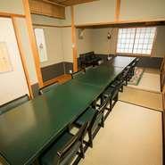 接待やお子様連れ、冠婚葬祭などでお使いいただける個室です。