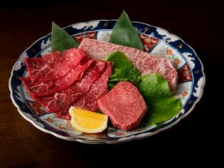 豊かな旨みと柔かい肉質が特徴の松尾勝馬牧場産「伊萬里牛」