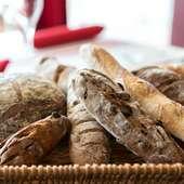自然を大切に生み出される『天然酵母 自家製パン』