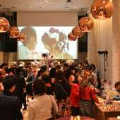 広々としたパーティースペースでは、50名様もOK