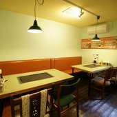 あたたかな空間で、料理とお酒、そしておしゃべりを