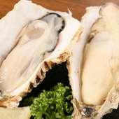 鮮牡蠣(厚岸産)