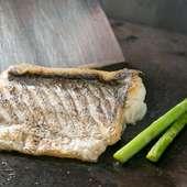 季節の新鮮な魚でつくる『本日の鮮魚のソテーやオーブン焼き』
