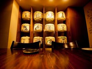 厳選した日本酒と、素材からこだわった料理を共に味わって