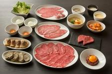 国産A5和牛焼肉にこだわるうしごろだからこそできる、本来の赤身肉の旨さをお楽しみください。