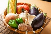 地元和歌山の野菜を中心に使用しています