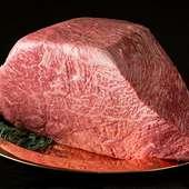 国産和牛霜降り赤身だから肉本来持つ甘味が違う!