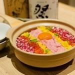 贅沢な海鮮土鍋飯付きコースに飲み放題を付けてなんと!赤字覚悟の3300円!!期間限定♪