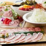 贅沢盛りだくさんプラン!!!三崎水産直送自慢のマグロをふんだんに使った豪華全10品。