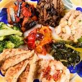 野菜たっぷり、体にも心にも優しい『アンティパストミスト』