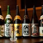 肉料理に合う日本酒も充実のラインナップ