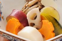 四季折々の食材を使ったお料理をお楽しみください。