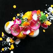 シェフのセンスが光る、彩り鮮やかで美しい料理の数々