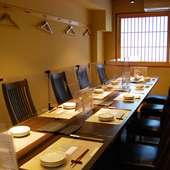通常営業時は、テーブル席 4名様×3席