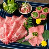 入荷したての新鮮お肉の盛り合わせ『今宵限りの盛り合わせ』