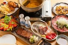 牛タンローストビーフ、厚切り牛タン焼など豪華料理を味わえる宴会コースを6500円で特別に提供します!