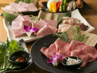 お店自慢の良質なお肉を豊富に取り揃えた『匠セット』