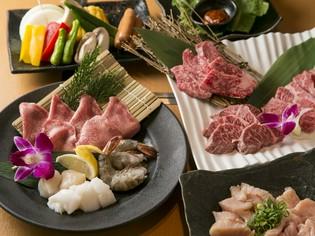 お肉の卸売り直営店だからこそご用意できる、良質な和牛を使用