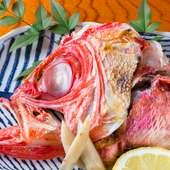 魚好きにはたまらない『金目のカマ塩焼き』