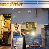 お店の外から中をのぞける、入りやすい風通しの良いお店