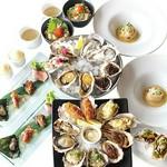 季節の食材、お魚やお肉も楽しんでいただけるバランスのとれた洋風コースです。