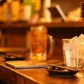 日本全国から厳選したお酒。日本酒を牛タンのお供に
