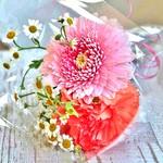 ★要予約★アニバーサリーケーキと一緒に花束のプレゼントはいかがでしょうか?
