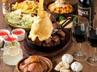 大満足の肉づくしコース!メイン料理はなんと選べる肉メイン♪ワンランク上の肉宴会/肉女子会に◎