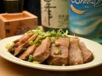 ご飯のおかずに良し、お酒のおつまみにも良し『特製焼豚』