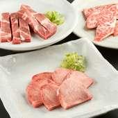 高品質な牛肉を仕入れて手間ひまをかけて手切りで提供