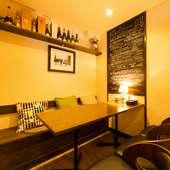 人気の個室は予約必須、家族団らんや友人との集まりにもおすすめ