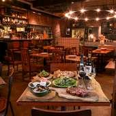 おいしい肉料理とお酒をカジュアルに楽しめる店づくりを