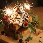 お誕生日などのお祝いにいかがですか?豪華なデザートプレートでお祝いしましょう!