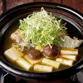 天然すっぽん鍋の会席料理 15,000円と18,000円(税別)