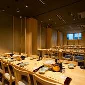 京橋・東京駅エリアの団体様、歓送迎会、各種宴会に最適です。