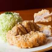 日本における元祖といわれる、伝統の味を継承する『カツレツ』