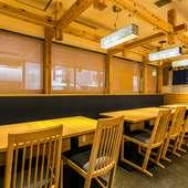 明るくおしゃれな店内で、北海道料理満載の合コンはいかが
