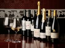 種類豊富なワインを取り揃えております