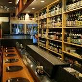 宮崎県産の日本酒、焼酎の銘柄は圧巻の190種類を用意
