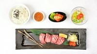 黒毛和牛「上タン」・特製白菜キムチ・サラダ・ライス
