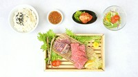 A5黒毛和牛「カッパカルビ」・A5黒毛和牛「ロース」・特製白菜キムチ・サラダ・ライス