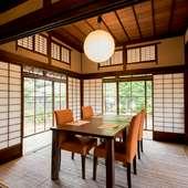 接待や会食、宴会にと、幅広く利用しやすい様々な部屋をご用意