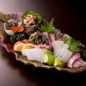 活きの良い魚を堪能『新鮮! 本日のお刺身盛』